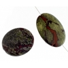 Dragon Blood Jasper 30x40mm Oval 4Pcs Approx